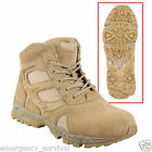 Desert Tan Forced Entry Deployment Tactical Work Boots - 6""