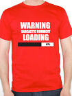 WARNING SARCASTIC COMMENT LOADING - Humorous / Novelty Themed Mens T-Shirt