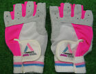 Womens Cross Training Weight Lifting Exercise Fitness Padded Gloves Cycling Pink