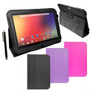 SLIM LEATHER STAND CASE COVER FOR GOOGLE NEXUS 10 inch  WITH  STYLUS