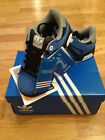 CHILDRENS ADIDAS BLUE TRAINERS (FREE POSTAGE)