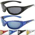 NEW BLACK GOGGLES SUNGLASSES MENS LADIES MOTOR X MOTORCYCLE CYCLE CROSS UV400
