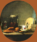 Photo/Poster - Jar Of Apricots - Chardin Jean Baptiste Simeon 1699 1779