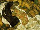 Art Print - Death And Girl - Schiele Egon 1890 1918