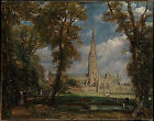 Art Photo Print - Salisbury Cathedral From Bishop'S Grounds Mma - John Constable