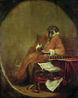 Art Photo Print - Monkey Antiquarian - Chardin Jean Baptiste Simeon 1699 1779