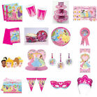 EVERYTHING  FOR  DISNEY PRINCESS BIRTHDAY PARTY PLATES NAPKINS CUPS TABLECOVER