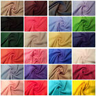 "Antipil Polar Fleece Fabric 24 Plain Colours - 59"" (150cm) wide - per metre/half"