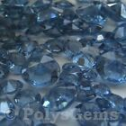 LIGHT NAVY WEDDING TABLE DIAMONDS SCATTER CRYSTALS