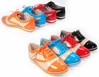 Women's Light Weight  Two Tone Round Toe Lace Up Oxford Flat Shoes 4 Colors NEW