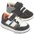 BOYS INFANTS SKATE TRAINERS GIRKS KIDS CASUAL VELCRO CANVAS BLACK BASEBALL SHOES