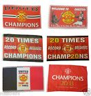 United Flag Selection 20 Times Champions of Manchester & England Winners Gift