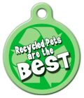 RECYCLED - Custom Personalized Pet ID Tag for Dog and Cat Collars