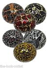 NEW RANGE-Mosaic Glass Balls(Various Colours) - MEDIUM (10.5CM)