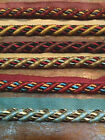"""HOME DECOR 3/4"""" CORD Trim with LIP RAYON 1yd EDGE UPHOLSTERY Made in ITALY"""