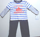 NWT Carter's Boys CAPTAIN ADORABLE 2 pcs outfit Long Sleeve Shirt & Pants