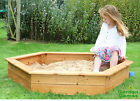 WOODEN SAND PIT CHILDRENS SAND PIT SANDBOX & FREE COVER
