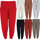 Ladies Ali-Baba Womens Full Length Baggy Harem Legging Trouser Pant Colors new