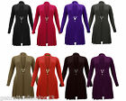 NEW LADIES KNITTED BOYFRIEND CARDIGAN WOMENS CROCHET DRESS TOP PLUS SIZES 20-30