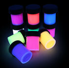 halloween acrylic paint black light rave party