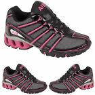 LADIES RUNNING TRAINERS GIRLS SPORTS GYM WALKING SHOCK ABSORBING SHOES SIZE 3 -8