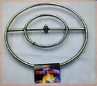 "Sierra Stainless Steel Fire Pit Ring Burners - Sizes 12"" 18"" 22"" 24"" 30"" 36"""