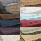 1800 ANILI MILI COLLECTION DEEP POCKET 4 PIECE BED SHEET SET  12 COLORS ALL SIZE image
