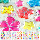 Crystal Shiny Sparkle Computer Phone Scrapbooking Stickers Starfish Flower CR001