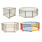 Baby Child Children Wooden Foldable Playpen Play Pen Room Divider Heavy Duty New