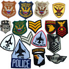 ARMY Military Police AIRBORNE Corporal AIRFORCE F-16 Badge PATCH Motif Hot-fix