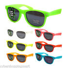 GLOW IN THE DARK Cool Glasses Sunglasses Fun Neon Party Club Light (8 Colors)