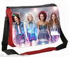 LARGE PERSONALISED SCHOOL / COLLEGE MESSENGER BAG ANY NAME KOOLART LITTLE MIX