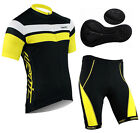 2013 New Men Cycling Outfit/Bicycle Bike Clothing Jersey + Shorts/Pants M-2XL