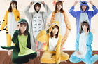 PIGIAMA KIGURUMI COSTUME ADULTI COSPLAY ANIMALI CARNEVALE HALLOWEEN IN ITALIA