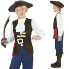 Boy's Pirate Jack Caribbean Pirate Fancy Dress Costume Book Week Outfit