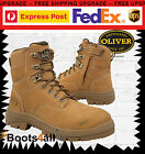 Oliver  (Honeywell) 55232Z Wheat 150mm Zip-Lace Up Safety Boot