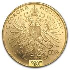 Austrian 100 Corona Gold Coin - Random Year Brilliant Uncirculated - SKU #157