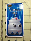 Silicone Rubber  RN Nurse First Aid Iphone 4/4S & 5 5S 5C Samsung sublimation
