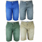 MENS SHORTS CHINO BOTTOMS DESIGNER JEANS COTTON PANTS HOLMES & CO CASUAL SUMMER
