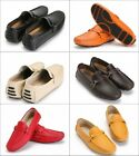 hot NEW Mens Comfy Cow Leather Casual moccasins Driving slip on loafer 6 color s
