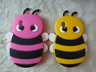 New Silicone Bumble Bee Case Cover for Samsung Galaxy Ace S5830 .