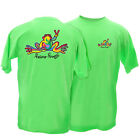 Peace Frogs Green Retro Youth 100% Cotton T-Shirt