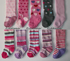 Baby Girls Tights,0,6,12,18 months,pink/cream/grey,plain/cable/stripe,Tick Tock