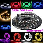 Bright 5M 500CM 5050 SMD LED Waterproof Flexible Strip 60LED/M 300 LEDs