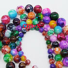 6mm 8mm 10mm 12mm Mixed Round Chic Glass Loose Spacers Painted Pearl Charm Beads