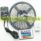 5050 SMD 300 LEDs 5M RGB 60leds/m Waterproof Flexible Strip Lights 12V Party UK