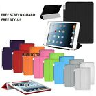 Ultra Thin Smart magnetic stand Cover+Back Case for apple iPad 2 3 4 sleep wake