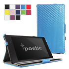 Poetic StrapBack Case fo Google Nexus 7 2nd Gen 2013 Android Tablet Carbon Fiber