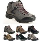 Kyпить MENS HIKING BOOTS WALKING ANKLE HI TOPS TRAIL BLACK TREKKING TRAINERS SHOES SIZE на еВаy.соm