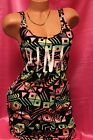 Victoria's Secret PINK Sexy Aztec Print Stretch Tank Cover Up Dress